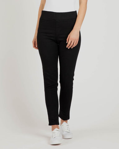 BETTY BASICS MILLER STRETCH JEAN BLACK