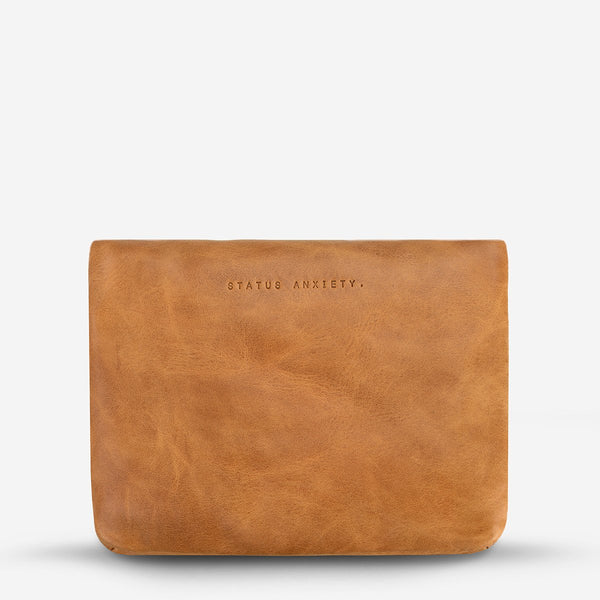 STATUS ANXIETY NORMA WALLET TAN