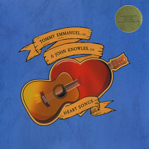 TOMMY EMMANUEL & JOHN KNOWLES HEART SONG LP