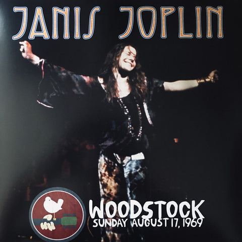JANIS JOPLIN WOODSTOCK SUNDAY AUGUST 17 1969 LP