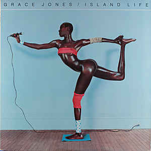 GRACE JONES ISLAND LIFE BEST OF LP