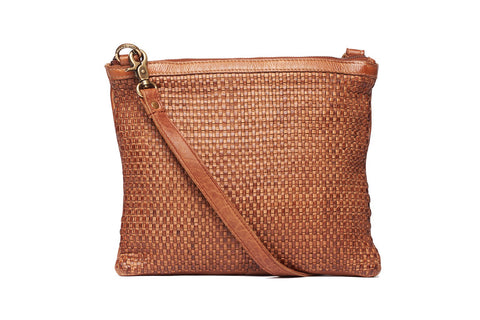 RUGGED HIDE TRINITY WOVEN SLING/CLUTCH