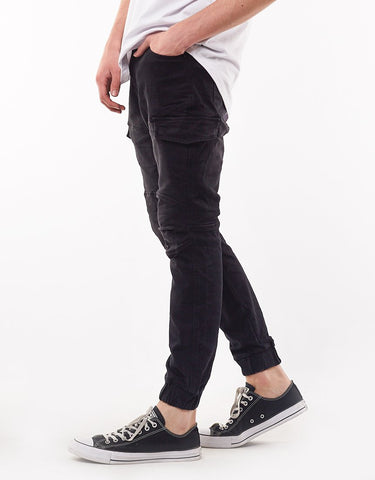 SILENT THEORY NOMAD PANT BLACK