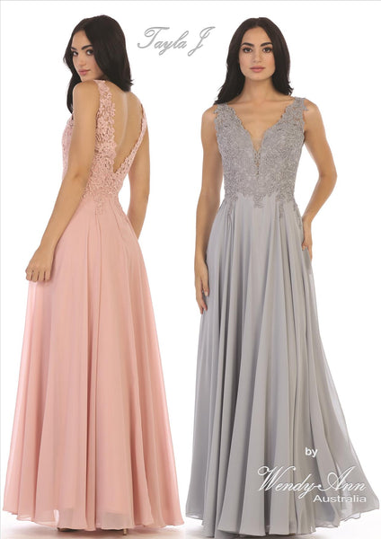 T1025 (BURGUNDY, CHAMPAGNE, DUST ROSE, MAUVE, NAVY, OFF WHITE, SAGE + SILVER)