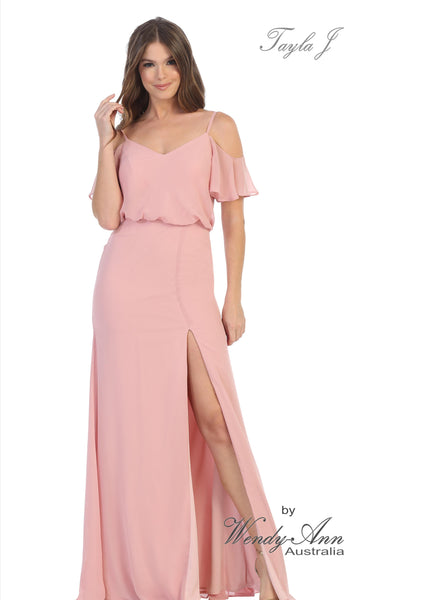 T3333 (BURGUNDY, BLUSH, CHAMPAGNE, DUSTY ROSE, MAUVE + NAVY)
