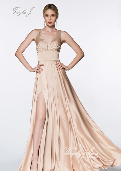 T9647 (PURPLE, BLUSH, BURGUNDY, EMERALD, LAVENDAR, NUDE, RED, ROYAL, SILVER + SMOKE)