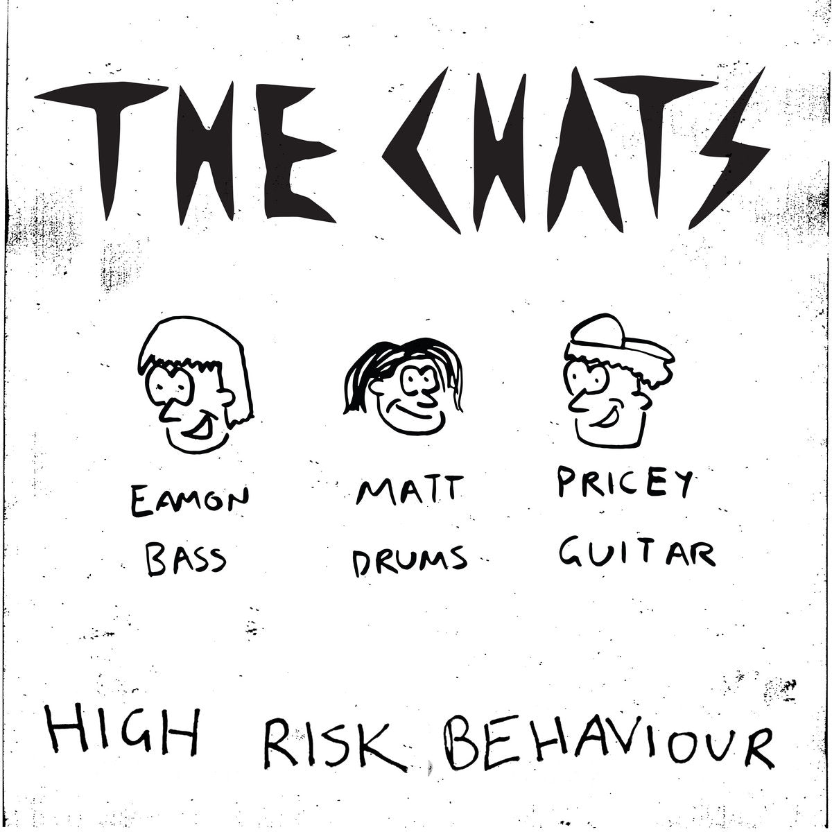 THE CHATS HIGH RISK BEHAVIOUR LP