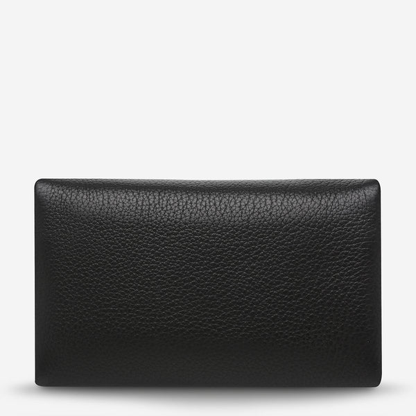 STATUS ANXIETY AUDREY WALLET PEBBLE BLACK