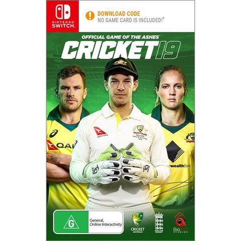 NINTENDO SWITCH CRICKET 19