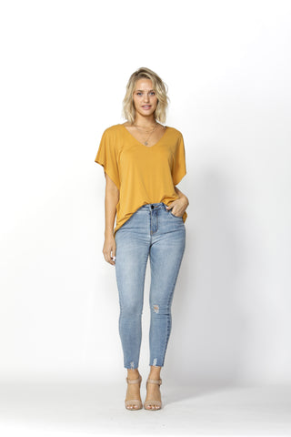 COOPER SKINNY MID RISE JEANS