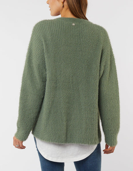 FOXWOOD JOCELYN CARDIGAN MINT