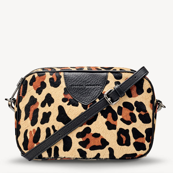 STATUS ANXIETY PLUNDER BAG LEOPARD