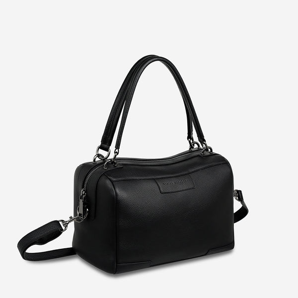 STATUS ANXIETY DON'T ASK BAG BLACK