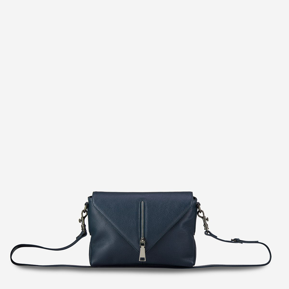STATUS ANXIETY EXILE BAG NAVY BLUE