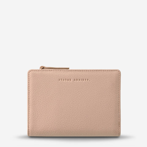 STATUS ANXIETY INSURGENCY WALLET DUSTY PINK