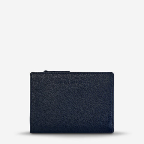 STATUS ANXIETY INSURGENCY WALLET NAVY BLUE
