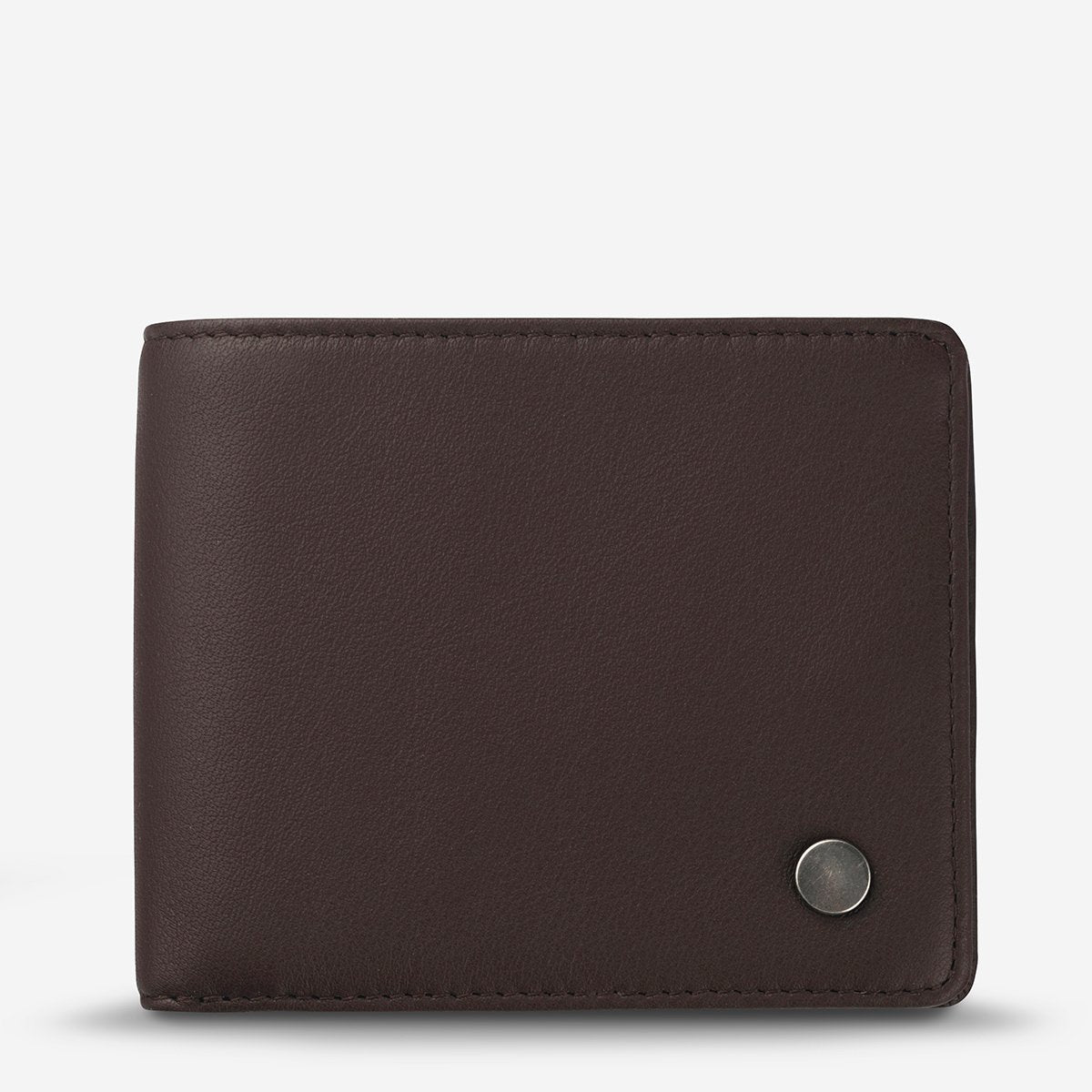 STATUS ANXIETY LEONARD WALLET CHOCOLATE