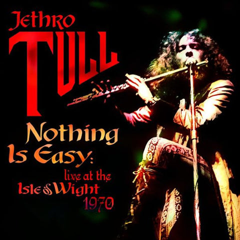 JETHRO TULL NOTHING IS EASY LIVE ISLE OF WIGHT 1970 LP