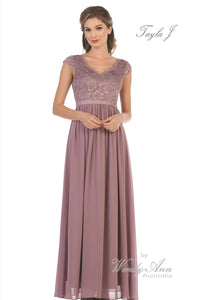 T1613 (BLACK, BLUSH, BURGUNDY, CHAMPAGNE, CORAL, DUSTY ROSE, LILAC, MAUVE, MINT, NAVY, RED, ROYAL, SAGE + SILVER)