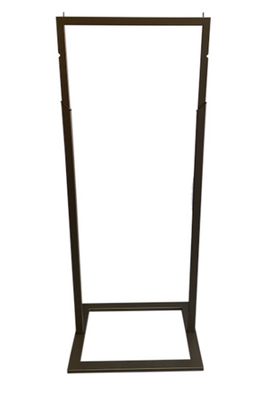 Bronze signage display stand