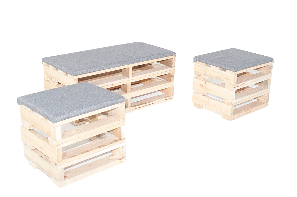 Pallet seating series