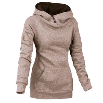 Three Side Button Hoodie