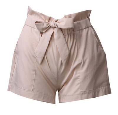 Pocket Shorts With Belt