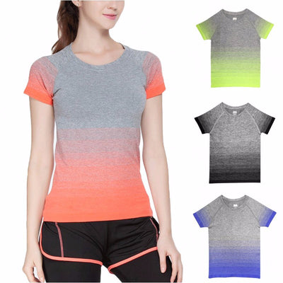 Quick-drying Color Fade T-shirt