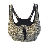 Zipper Sports Bra