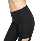 Cross Cut Out Leggings