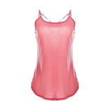 Thin Strap Design Tank Top