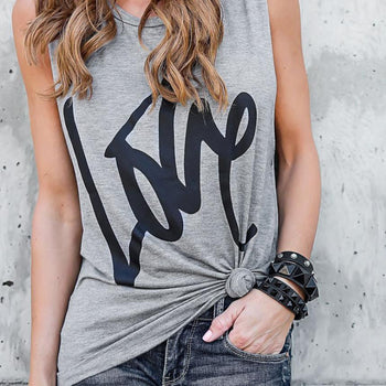 LOVE Cotton T-Shirt