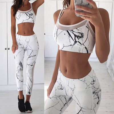 Marble Two Piece Outfit