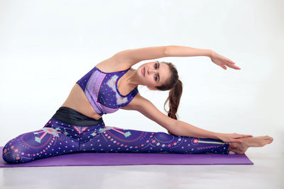 Purple Star Print Outfit