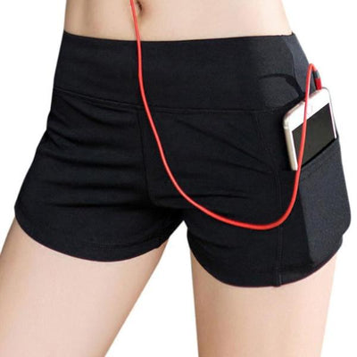 Workout Shorts With Pocket