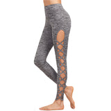 Lattice Grey Leggings