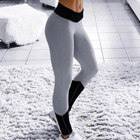 Gray Pop Leggings