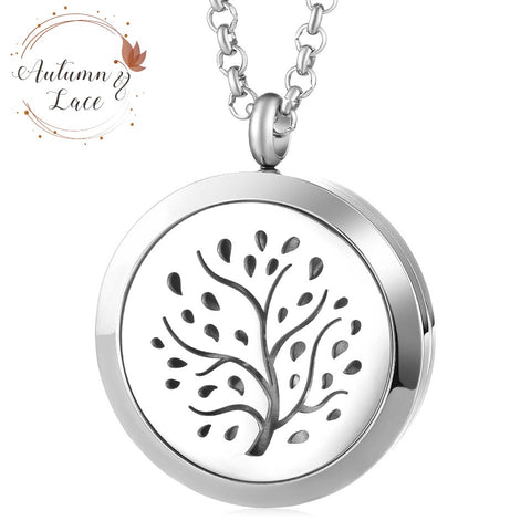 Diffuser Necklace - Family Tree