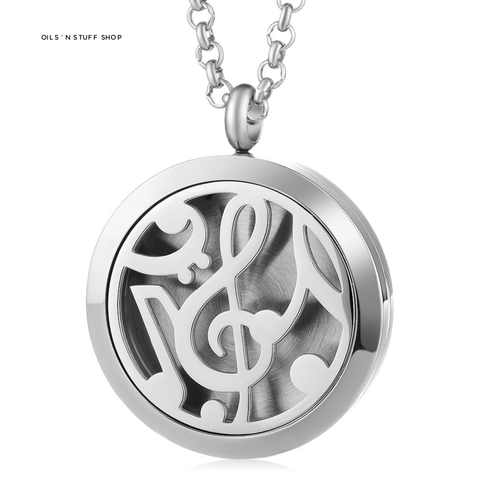 Diffuser Necklace - Musical Note