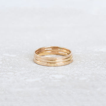 14K Basic Oahu Ring