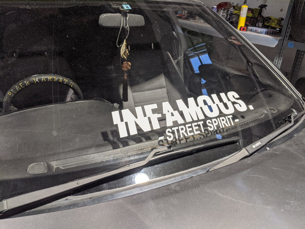 """INFAMOUS"" Banner"