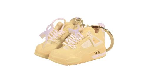 "Hand-Painted AJ 4 (IV) x Off-White™ - ""Sail"""