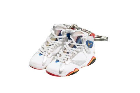 "Hand-Painted AJ 7 (VII) Retro - ""LOVEFORTHEGAME"""