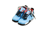 "Hand-Painted AJ 4 (IV) Retro - ""Travis Scott - Cactus Jack"""