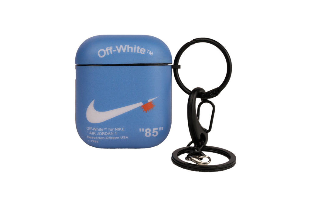 "Unique Off-White™ AirPod Case - ""University Blue"""