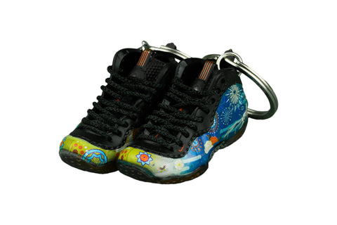 "Hand-Painted Air Foamposite - ""Chinese New Years"""