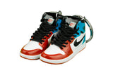 "Hand-Painted AJ 1 (I) Retro High - ""Fearless"""