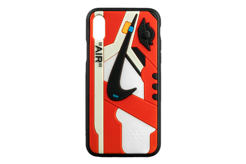 "Unique AJ 1 (I) x Off-White™ Phone Case - ""Chicago"""
