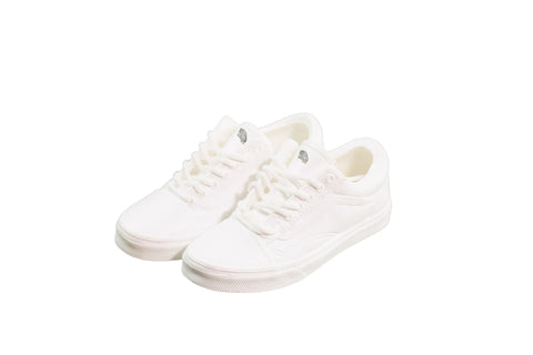 "Hand-Painted Old Skool - ""True White"""