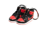 "Hand-Painted AJ 1 (I) Retro - ""Bred/Banned"" + Signature"